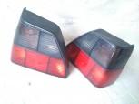 ORIGINAL HELLA RÜCKLEUCHTEN SCHWARZ / ROT VW RALLYE GOLF 2 GTI G60 SYNCRO
